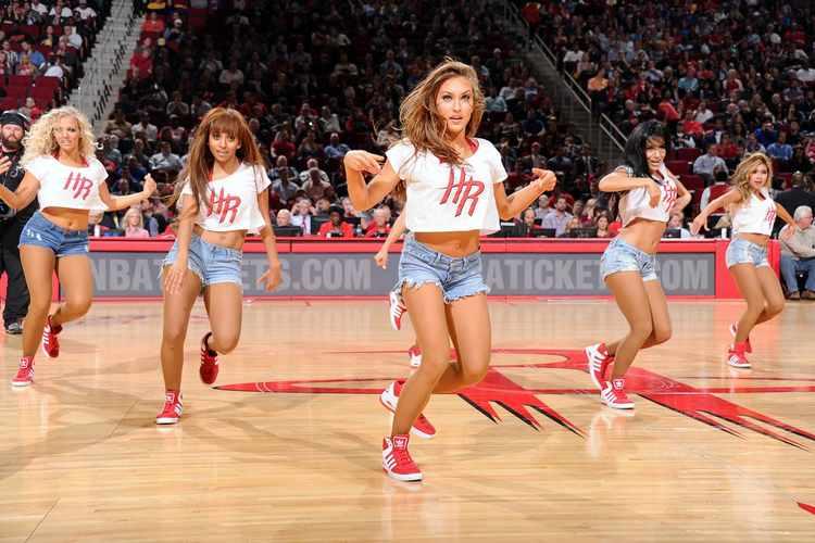 Houston Rockets cheerleaders