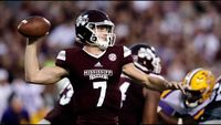Mississippi State Bulldogs player in action
