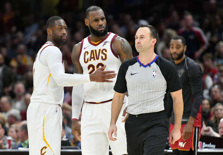 Lebron Ejected