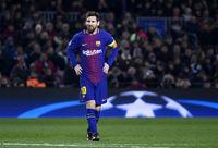 Barcelona FC player Messi
