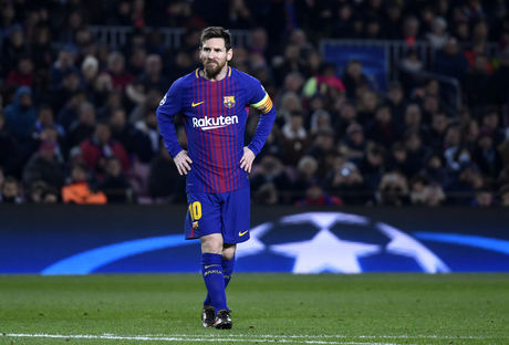 Barcelona FC player Messi
