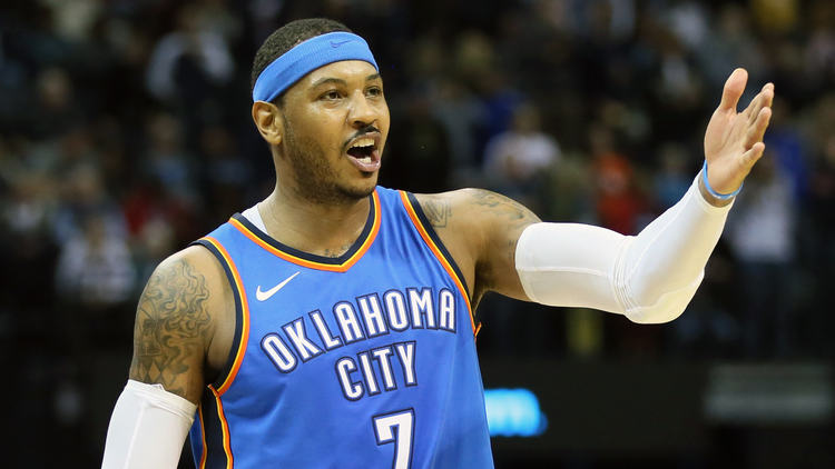 Carmello Anthony OKC