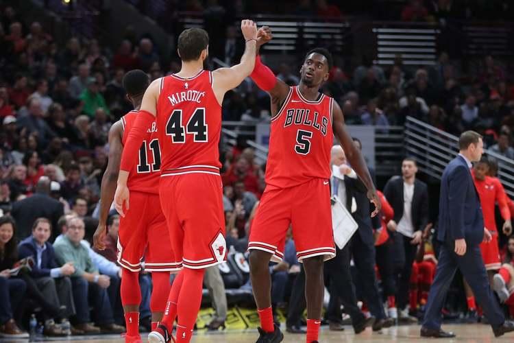Chicago Bulls duo