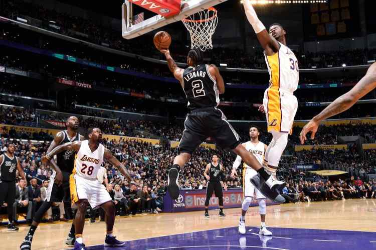 spurs lakers