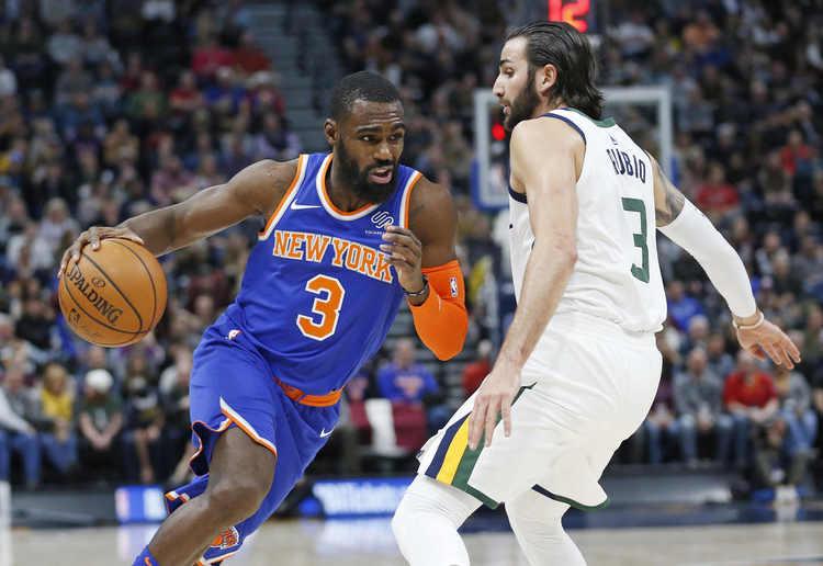 Hardaway leads Knicks past Jazz