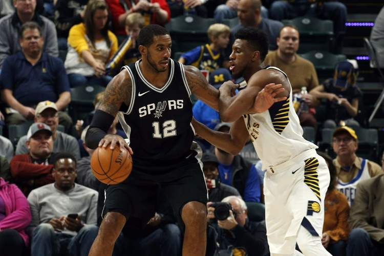 Spurs host Pacers