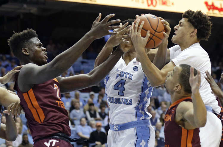 UNC plays Virginia Tech