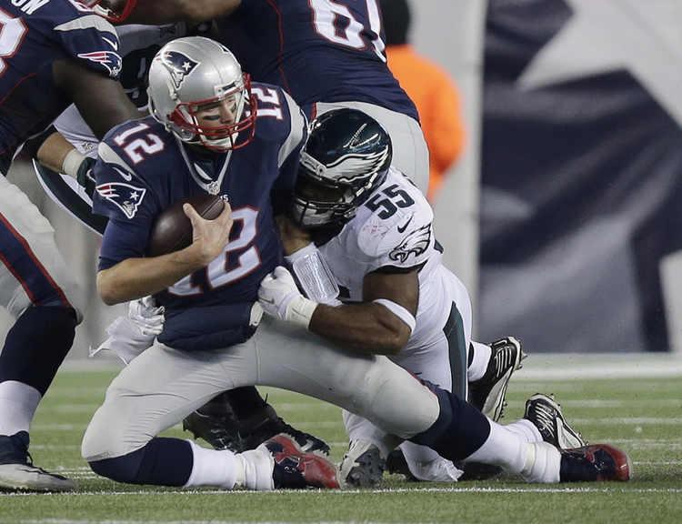 Eagles Patriots
