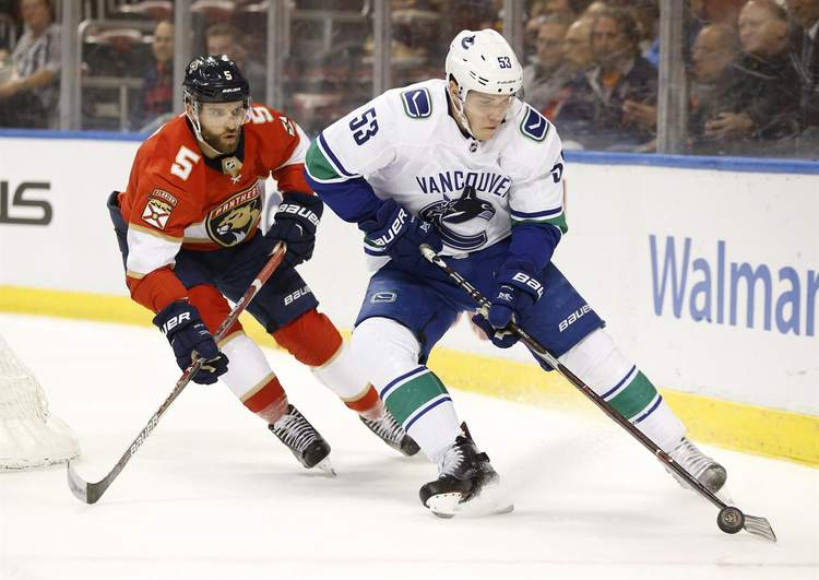 panthers canucks nhl