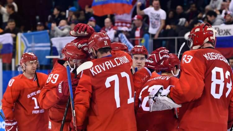 Russia IOC Hockey