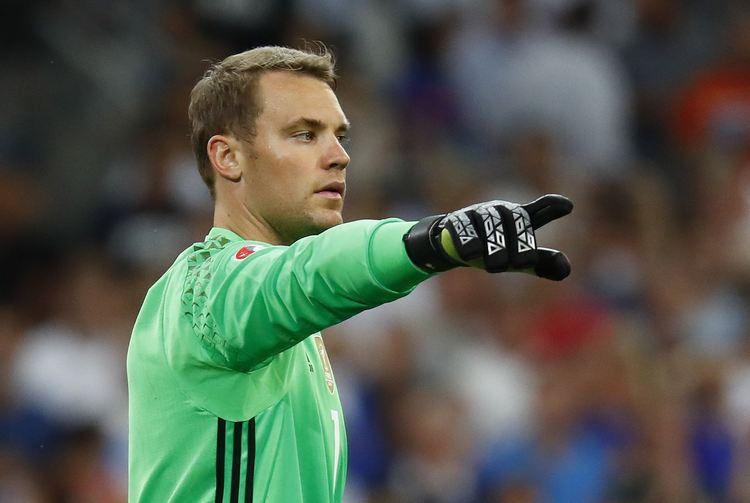 Germany goal keeper Manuel Neuer