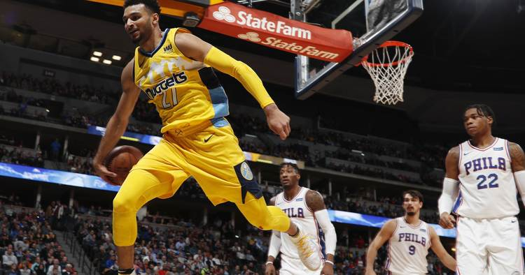 nuggets 76ers