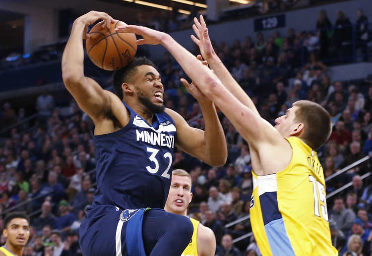 nuggets wolves