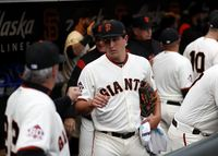 SF Giants Pitcher Holland