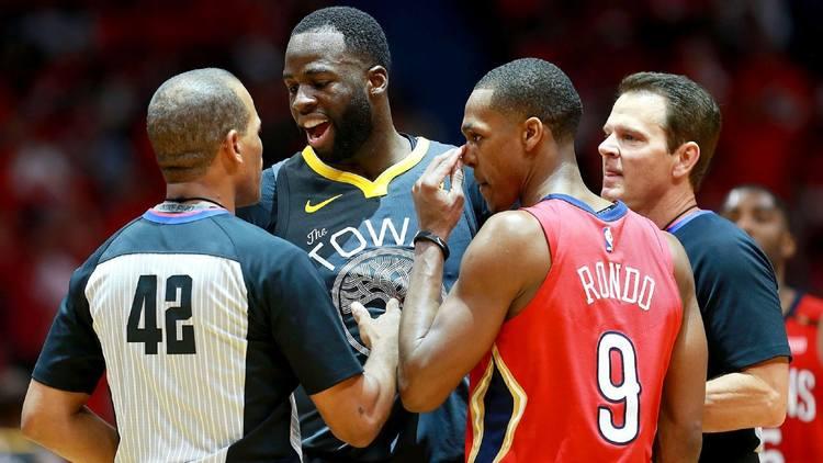 Warriors v Pelicans game 3