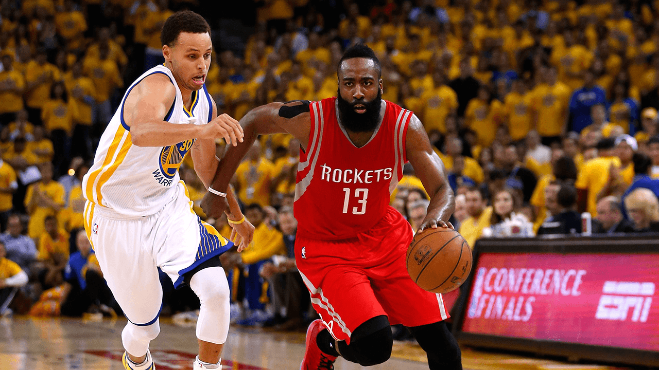 Image result for Golden State Warriors vs Houston Rockets