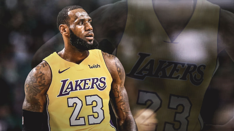 53c9f95d5823 Who Will LeBron Make Lakers Debut Against  Odds Favor Warriors ...
