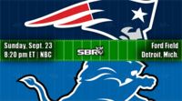 nfl week 3 patriots lions