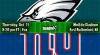 nfl week 6 eagles giants REGULAR