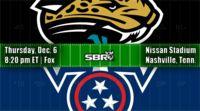 nfl week 14 jaguars titans