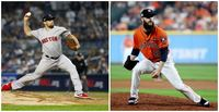 Houston V Astros pitchers