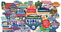 NCAAF Bowl games