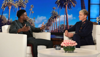 Ellen with Kevin Hart