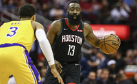 james harden rockets lakers