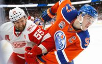 detroit red wings edmonton oilers nhl