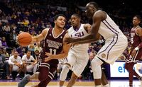 lsu tigers mississippi state bulldogs college basketball