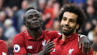 Mane and Salah of Liverpool
