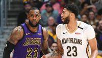 Anthony Davis (New Orleans Pelicans) vs LeBron James (LA Lakers)