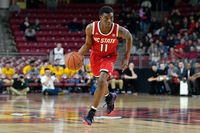 NC State Player Dribbling