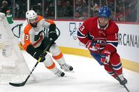 Canadiens vs Flyers