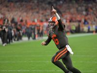 Baker Mayfield Cleveland North