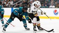 Sharks vs Knights NHL Game 2