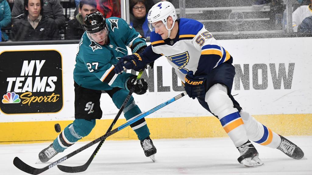 Blues Vs Sharks NHL