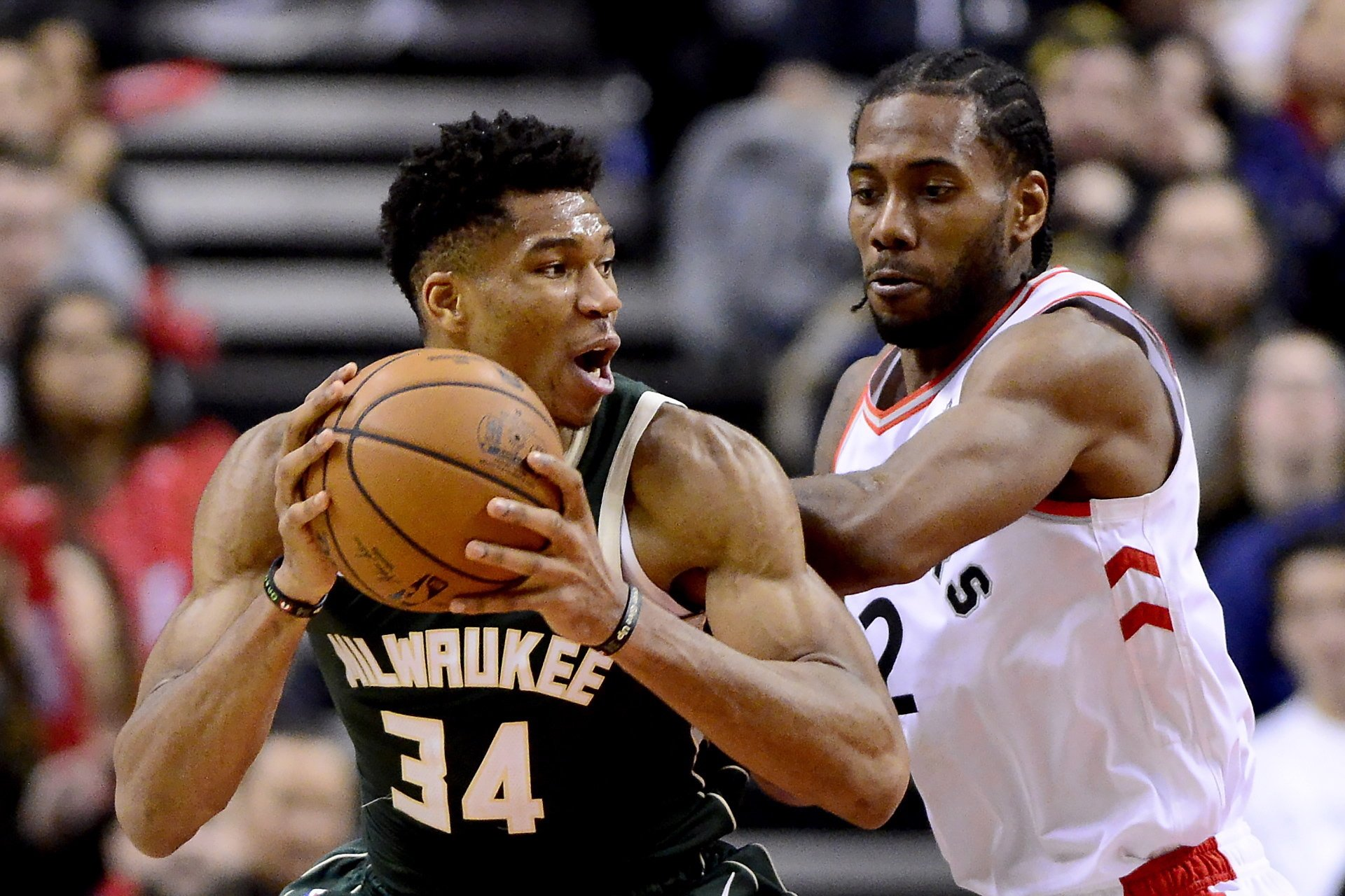 5884b38ed56 Kawhi And Giannis Face Off In Game One  Who ll Draw First Blood ...