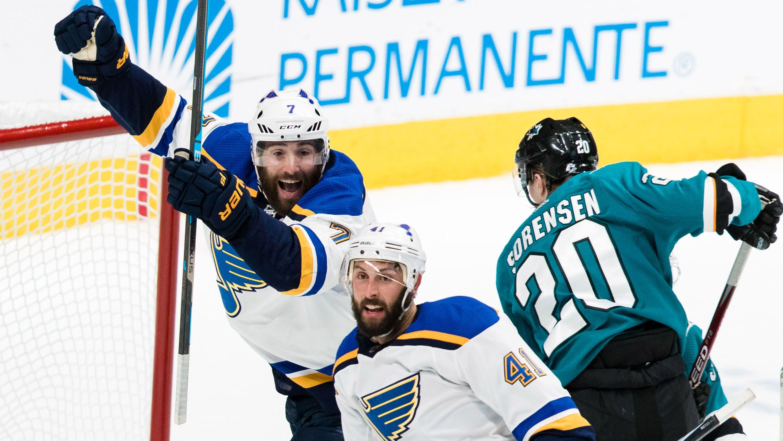NHL San Jose Sharks vs St. Louis Blues