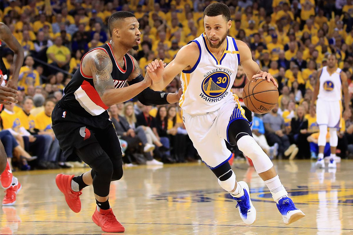 Portland Trail Blazers vs Golden State Warriors