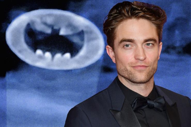 Pattinson as Batman
