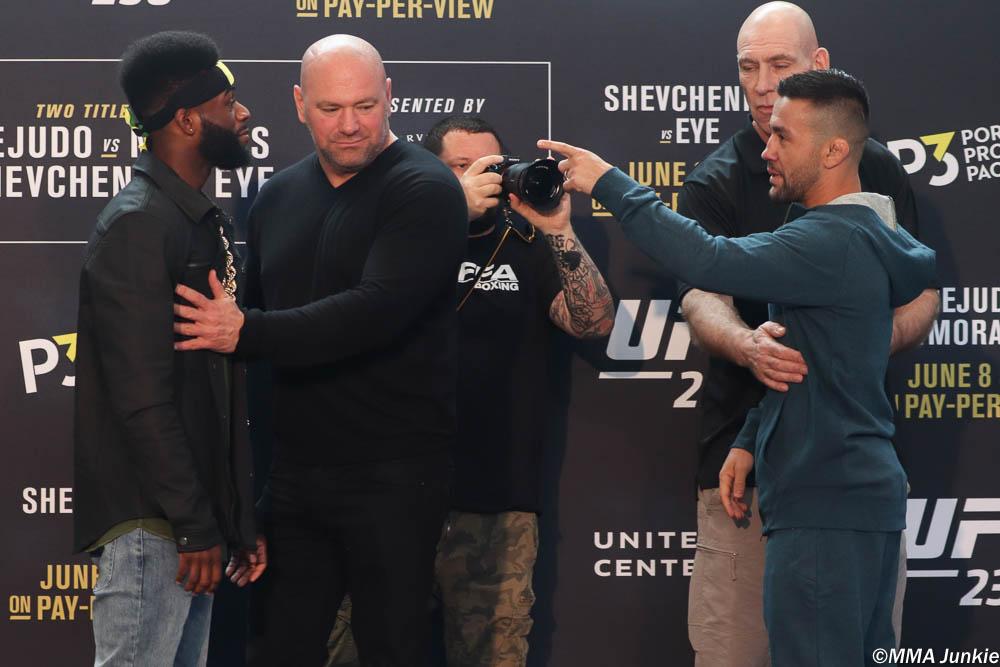 UFC Pedro Munhoz vs Aljamain Sterling