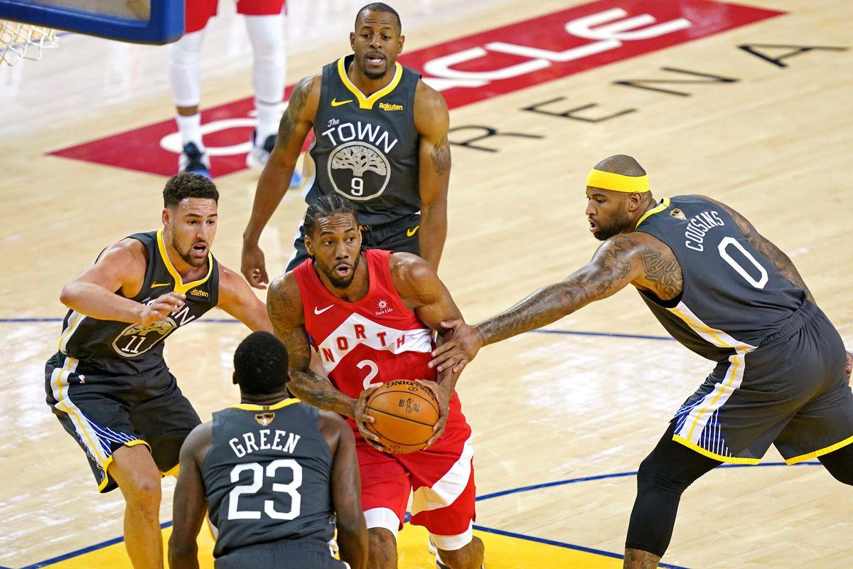 Golden State Warriors vs Toronto Raptors