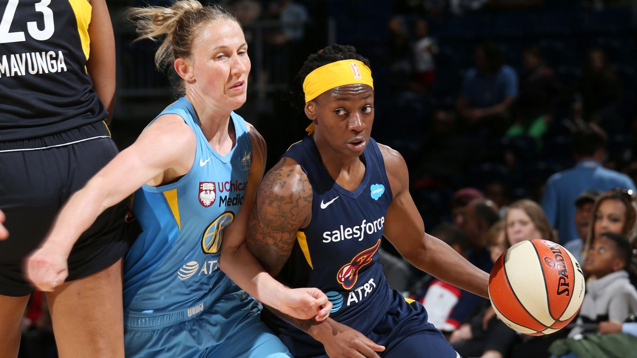 WNBA The Fever and The Sky
