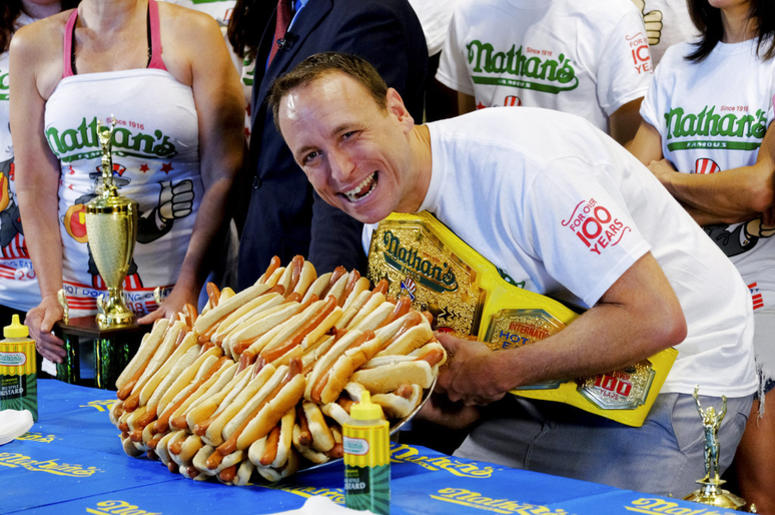 NJ Says 'Hold The Betting' On Nathan's Hot Dog Eating Contest ...