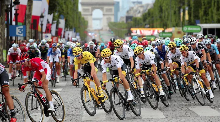 Tour De France Paris Race