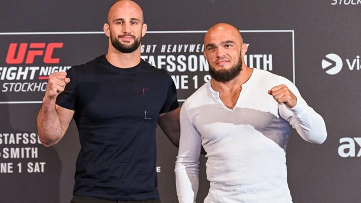 Volkan Oezdemir vs Ilir Latifi