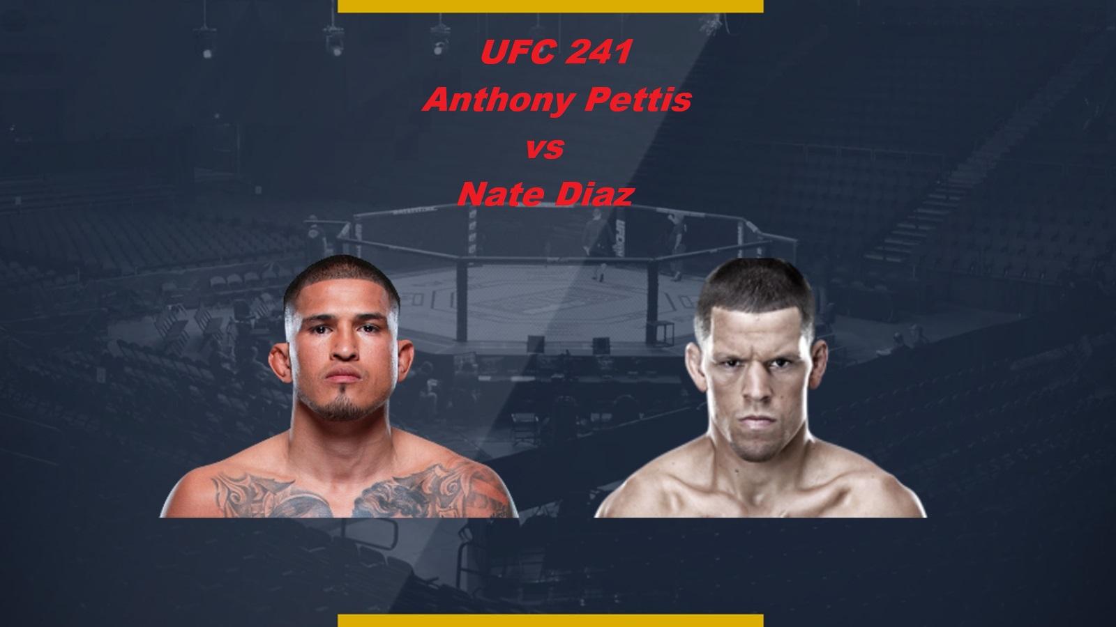 UFC 241 Pettis Diaz