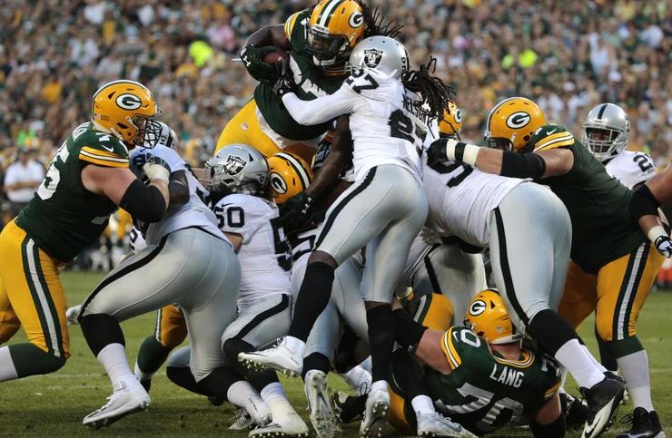 Raiders v Packers